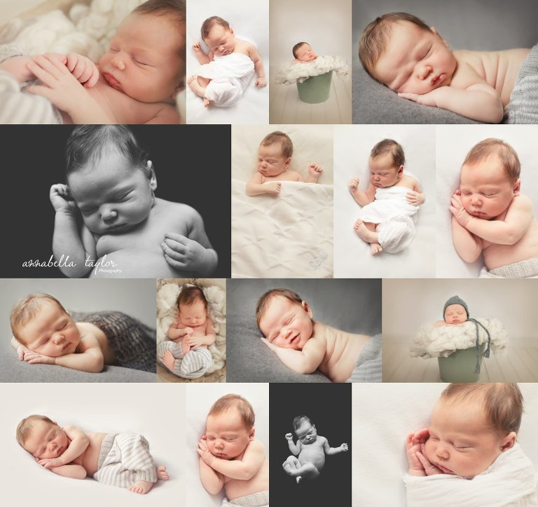 Newborn baby pictures Surrey newborn photographer neutral images