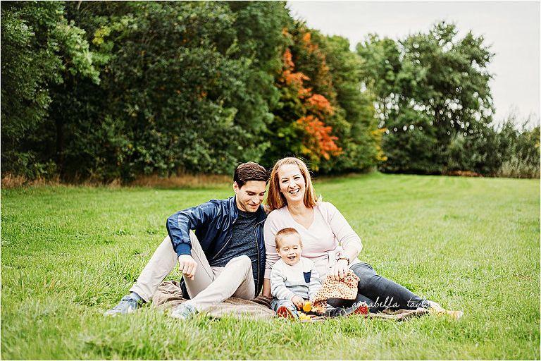 Autumn family mini shoot in Epsom